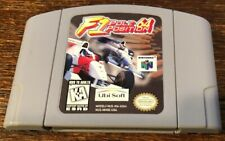 F1 Pole Position 64 Nintendo 64  N64  Authentic * Tested * Fast Shipping, Clean!