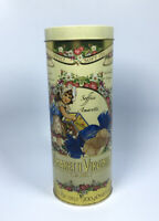 Amaretti Virginia Soft Italian Cookies Macarons Moelleux Tin Can Container Italy