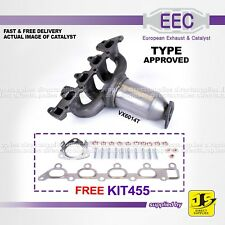 EEC CATALYST VX6014T TYPE APPROVED VAUXHALL ASTRA MERIVA 1.8 16V Z18XE FREE KIT