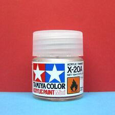 Tamiya #81520 Tamiya Color Acrylic Paint Mini X-20A Acrylic Thinner (10ml)