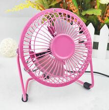 rose portable tendance Super Mute MINI USB bureau Fan pièce Refroidisseur