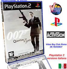 007 QUANTUM OF SOLACE NUOVO VERSIONE ITALIANA SONY PS2