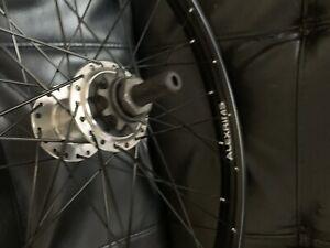 "New 22 inch BMX Alex Rims Supra Dome MID SCHOOL Rear Cassette Wheel 14mm 10t 22"""