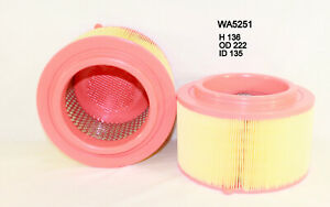 Wesfil air filter for Mazda BT-50 3.2L TDCi 10/11-on UP Turbo Diesel 5Cyl P5AT