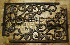 16 Cast Iron Antique Style LEAVES & VINE Brackets, Garden Braces Shelf Bracket