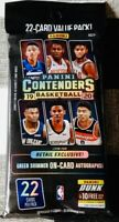 1x 2019-20 PANINI CONTENDERS NBA BASKETBALL VALUE PACK Zion Ja?