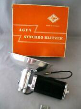 VINTAGE AGFA FLASH GUN~SYNCHRO BLITZER~GERMANY~IN ORIGINAL BOX