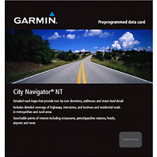 Garmin City Navigator Maps SD Card - Benelux & France - 010-11043-00