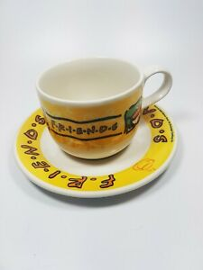 Original Friends Mugs Cups Staffordshire Tableware 1990's Made in England