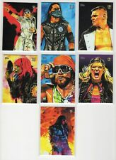 2020 Topps WWE Undisputed The Miz Rob Schamberger  Illustrations Sketch RS-7