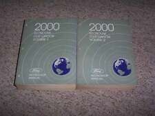 2000 Ford E350 Econoline Club Wagon Shop Service Repair Manual Set Diesel XL XLT