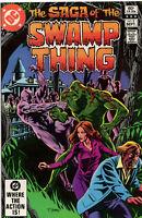 Saga Of The Swamp Thing 5 DC 1982 VF Tom Yeates Phantom Stranger