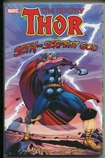 THOR vs. SETH, HE SERPENT GOD TRADE PAPERBACK - RON FRENZ - MARVEL COMICS/2011