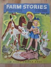 GIANT GOLDEN BOOK FARM STORIES ART BY GUSTAF TENGGREN HCB/DJ FIRST PRINTING 1946