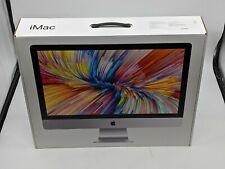 """Apple iMac Mid-2017 27"""" 5K i5-7600 8GB DDR4 1TB Fusion Drive MNEA2LL/A -J6183"""