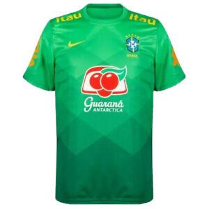 Nike Brazil National Team 2020/21 Men's Pre-Match Soccer Jersey [CD2574-330]