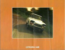 CITROEN AMI SUPER & AMI 8 SALOON ESTATE VAN ORIG. 1973 FACTORY UK SALES BROCHURE