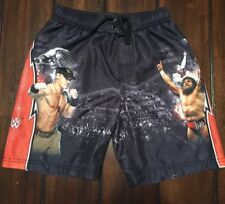 WWE Wrestling John Cena Daniel Bryan Bathing Suit Shorts Boys Small S 6/7
