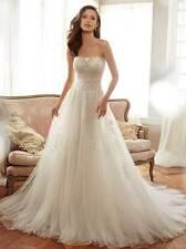 "Sophia Tolli Y11706 ""Harriet"" Ivory/Magnolia Size 14 Wedding Dress"