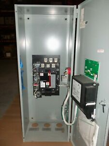 "Asco 260 Amp ATS Automatic Transfer Switch 208v 3 Phase  ""AK"""