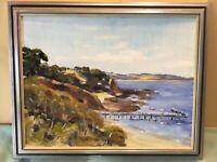 R K Newing Flinders Framed Oil Painting