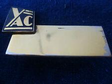 YAC CHAUVIN-MOBILIER de BUREAU~ INSIGNE PLAQUE NOMINATIVE~SICOB~circa 1960-