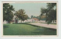 Undated Unused Postcard Entrance to Tennis Court Normandy Farm Gwynedd Valley PA