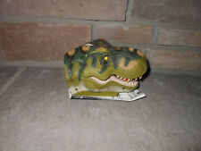 Jurassic Park III 3 Jaw Chomping Action T.rex Electronic Game Tiger plz read