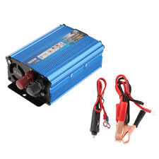 500W Solar Power Inverter DC 12V AC 220V Converter Invertor Electronic Blue