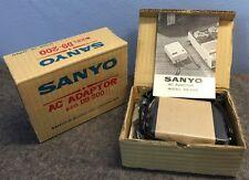 Vtg NOS Sanyo AC Adaptor D9-200 for Tape Recorder 110-117v or 220-240v To 9v