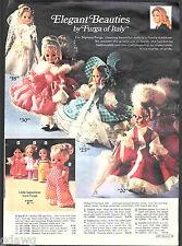 1971 ADVERTISEMENT Doll Italy Furga Rock Flower Bizzie Lizzie Play N' Jane Doug