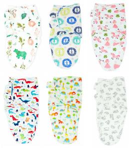 Callowesse Newborn Baby Swaddle Wrap 0-3M (7-14lbs), Blossoms & Unicorns, 0.5TOG
