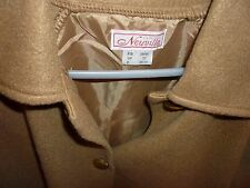 Fleece/jacket new size 12 by Claire Neuville -lined back, lovely buttons, collar