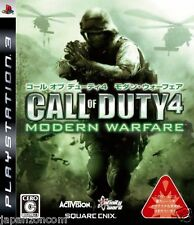 Used PS3 Call of Duty 4: Modern Warfare SONY PLAYSTATION 3 JAPAN JAPANESE IMPORT
