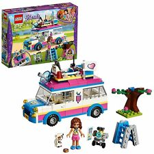 LEGO 41333 Friends Heartlake Olivia's Explorer And Rescue Mission Toy Vehicle