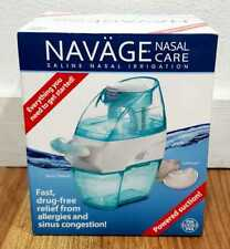 Navage Nasal Care SDG-2 Saline Nasal Irrigation Powered Suction NEW Sealed