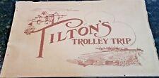 Very Rare 1909 Electric Trolley Tour Book Tilton's California 100 Mile Coast