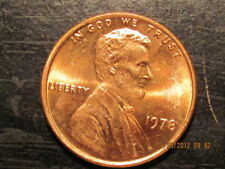 1978-S  ONE UNC LINCOLN MEMORIAL CENT #9