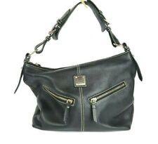Dooney and Bourke 1975 S/N K9582786 Black Leather Hand Bag