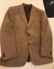 "Camel colour, wool blend, Collezione Mens Jacket, Regular Fit 44"" chest."