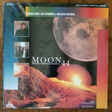 MOON 44●MALCOLM McDOWELL●MICHAEL PARE●IMAGE VIDEO●c1990●SEALED●LASER DISC●COOL