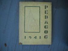 "1941 Southwest Texas Teachers College School Yearbook ""Pedagog"""