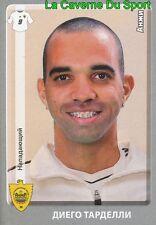 077 DIEGO TARDELLI BRAZIL FK.ANZHI MAKHACHKALA PSV STICKER PANINI RUSSIA 2012