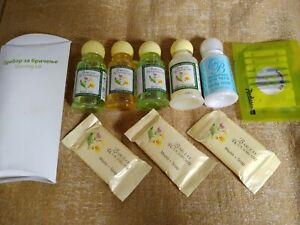 10pcs BARCLAY WOODROFFE luxury travel set: shampoo, conditioner, shower gel,soap
