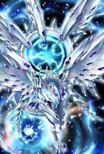 (100)YuGiOh Small Size Deep-Eyes White Dragon Card Sleeves 100 Pcs 63x90 mm