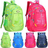 Kinder Mädchen Jungen Schultasche Schulrucksack Rucksack Schulranzen Wasserdicht