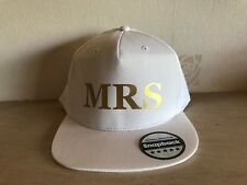 MRS and MRS Snapback Pair Fashion PRINTED Caps Hip-Hop Hats Wedding Mr and Mrs