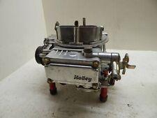 Holley Carburetor 600 Cfm Polished Aluminum