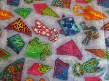 Cute SCARVES Accessories Fabric * BTY * Fabric Visions * Handkerchief Bandana