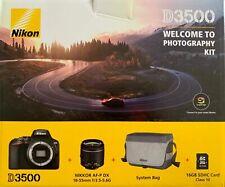 NIKON D3500 18-55mm Objektiv KIT Spiegelreflexkamera 24.2MP Zubehörpaket NEU OVP
